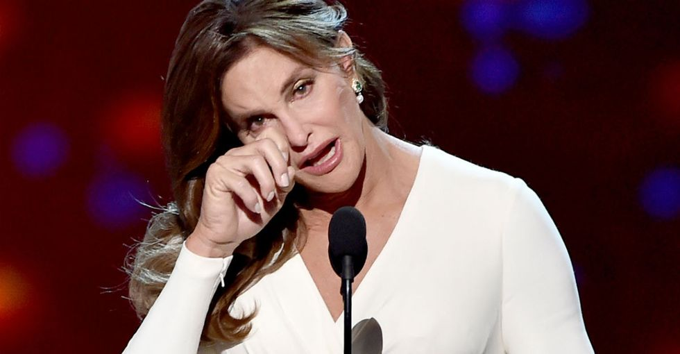 Caitlyn Jenner's heartfelt apology after her offensive 'man in a dress' remark.