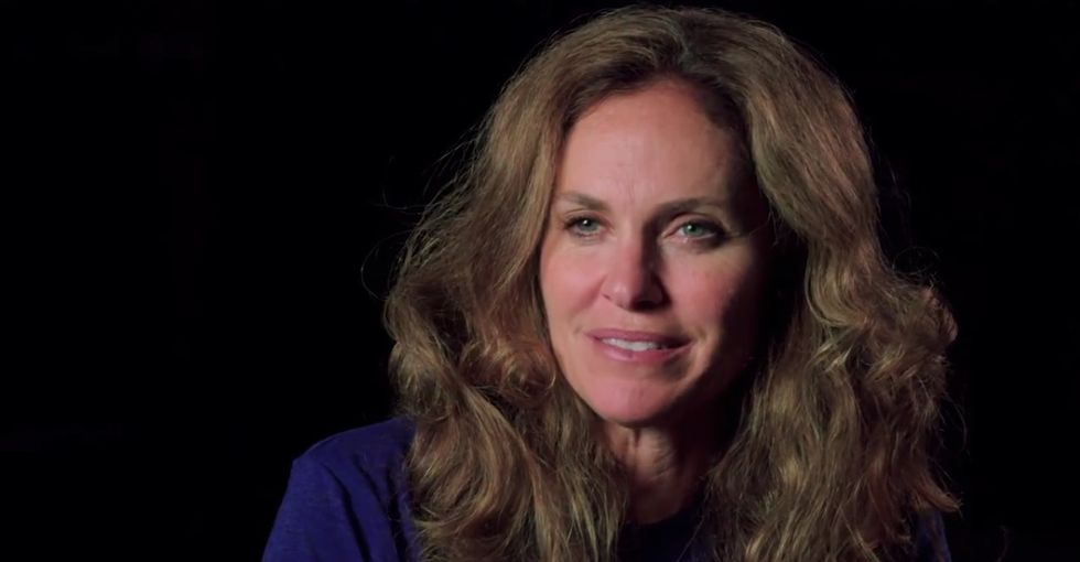 Amy Brenneman opens up about the abortion she had when she was 21.