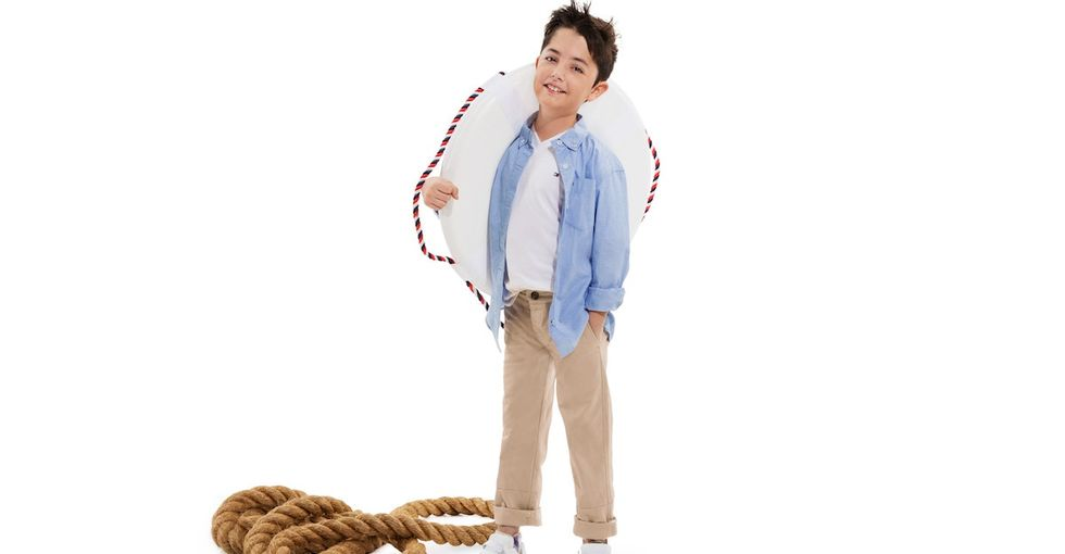 Check out Tommy Hilfiger's clothing line for kids with disabilities.