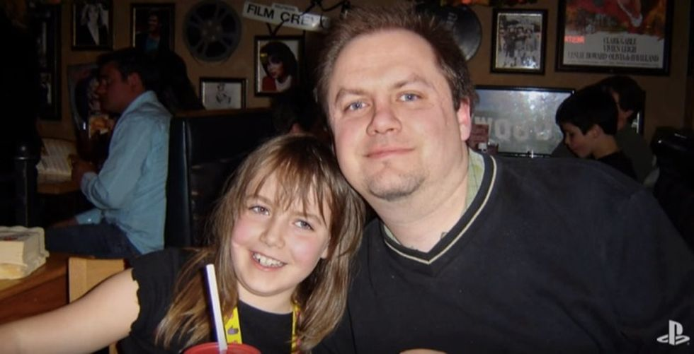 A girl and her dad played one last video game before he died. She'll never forget it.