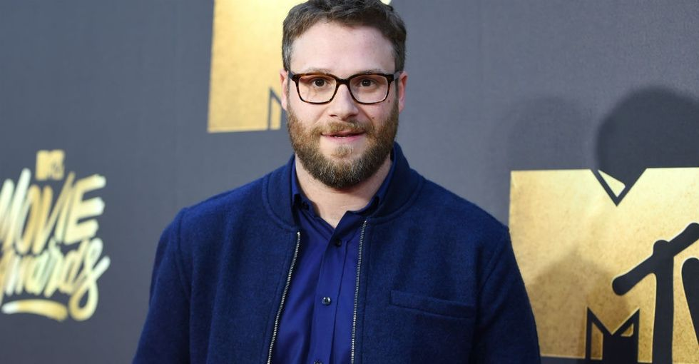 What Seth Rogen had to say about his old, 'blatantly homophobic' jokes.