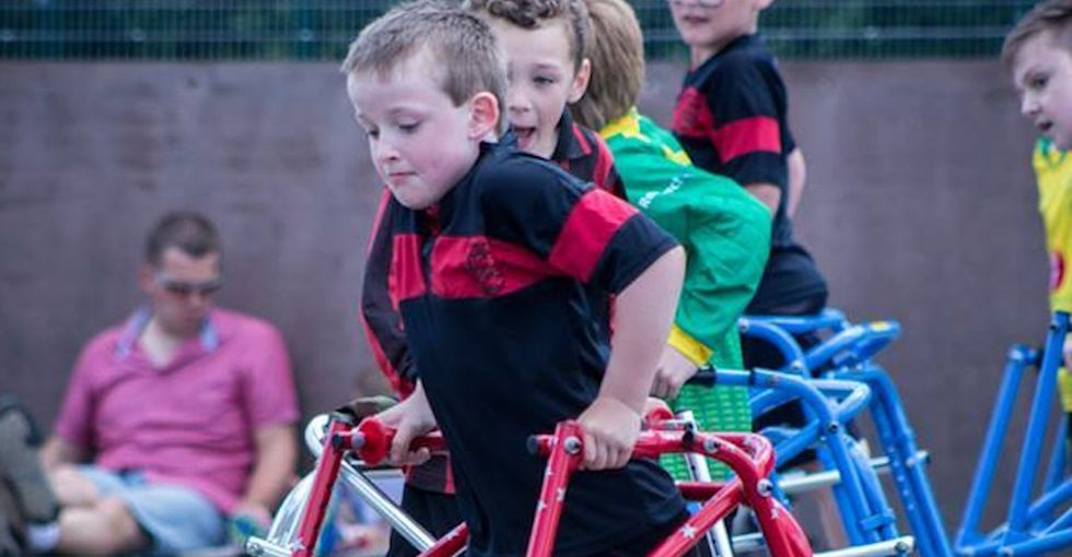There's a new sport for kids with mobility issues, and it's awesome.