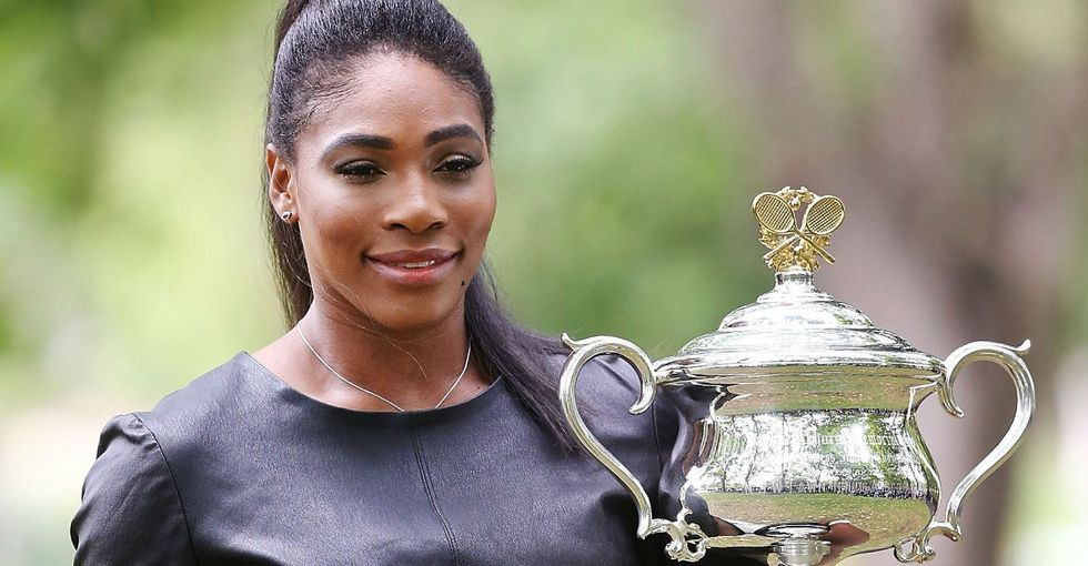 Serena Williams came up with her own Sports Illustrated cover. And it shows.