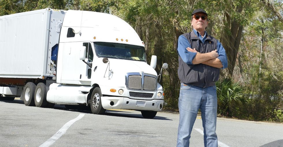 How thousands of truck drivers are combatting human trafficking, one truck stop at a time.