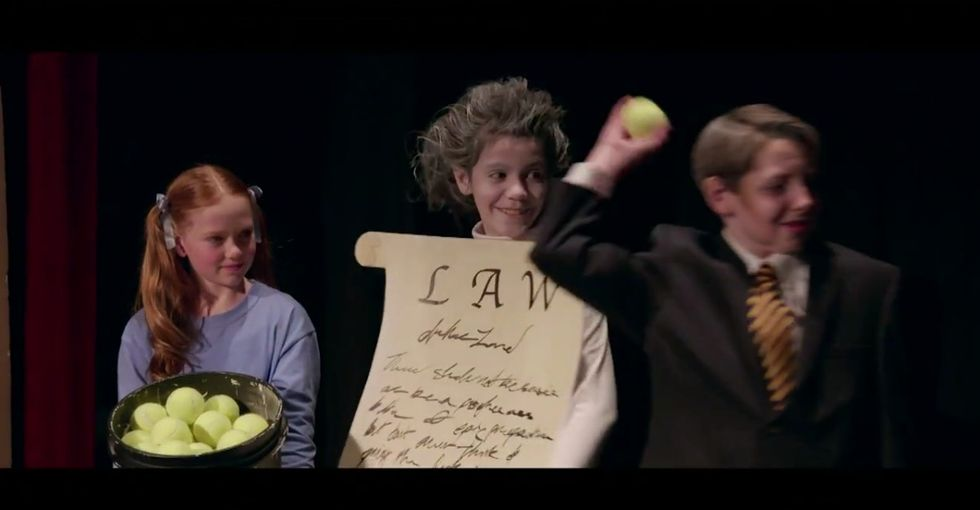 Samantha Bee uses children's theater to explain how lobbyists shut down gun reform.
