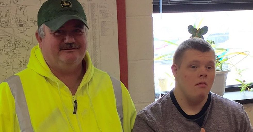 Meet the kind bus driver who watched over a boy with Down syndrome for a decade.