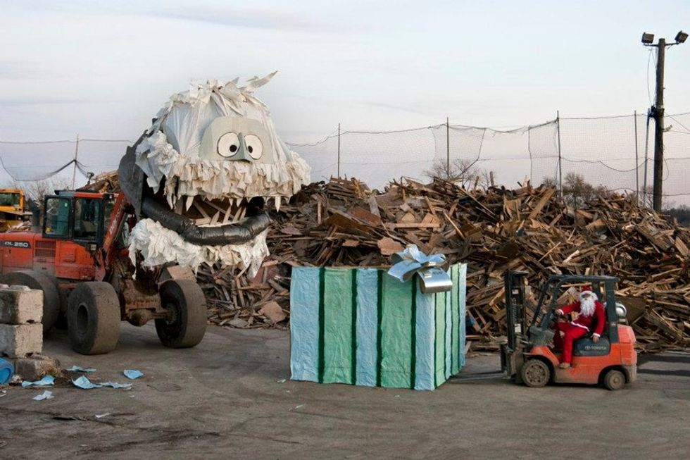 11 works of art that show there are no limits when it comes to reusing waste.