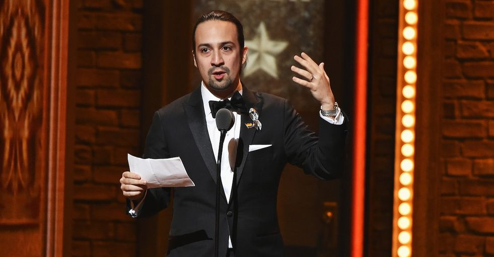 'Hamilton' won a Tony Award and its creator gave so much love to Orlando.