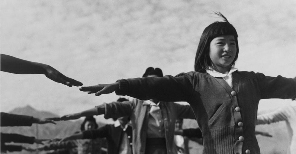 See how photographer Ansel Adams captured life inside a Japanese internment camp.