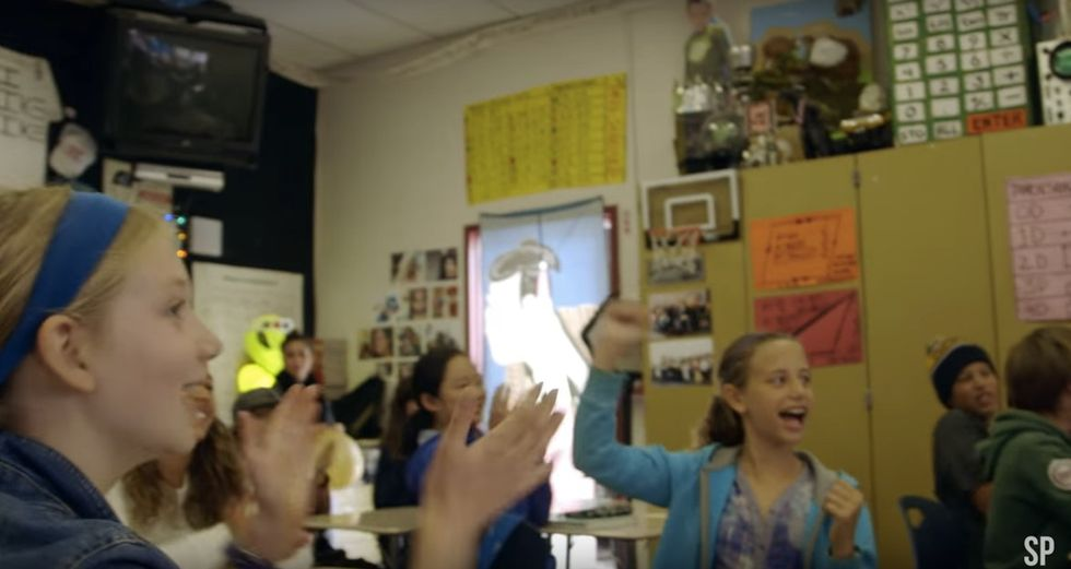 Rap music in math class? Mr. Mac has the best ways to get his students excited about math.