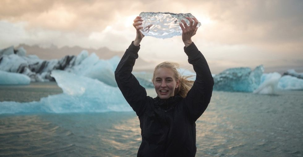 Who's ready for some good news about icebergs? Because they're doing something cool.