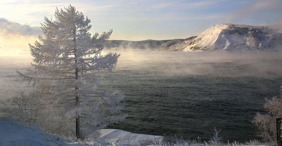How the world's deepest lake and chilly weather created a can't-miss musical performance.