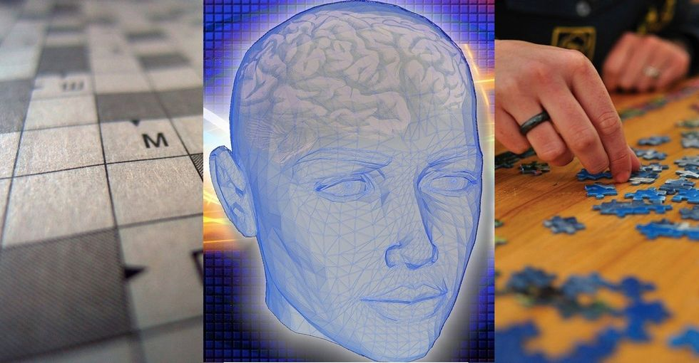 What could be one of the best ways to keep your brain sharp? It ain't crosswords…