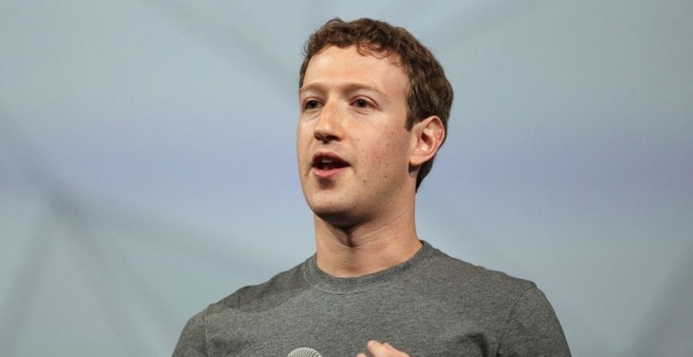 Mark Zuckerberg condemns defacement of 'Black Lives Matter' on company wall.