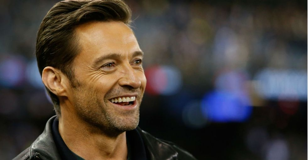 Hugh Jackman, real-life superhero, helped save swimmers from a riptide.