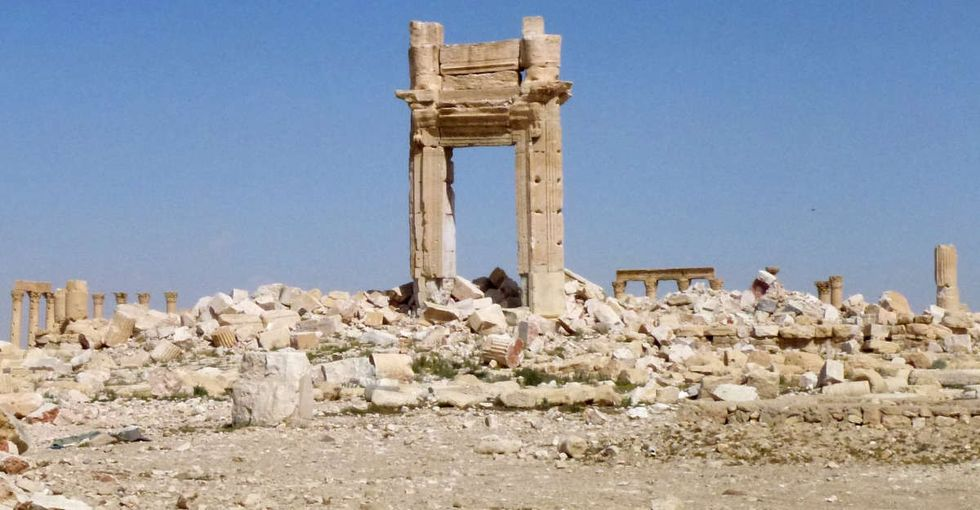A city filled with ancient ruins was recaptured from ISIS. Here's what it looks like now.
