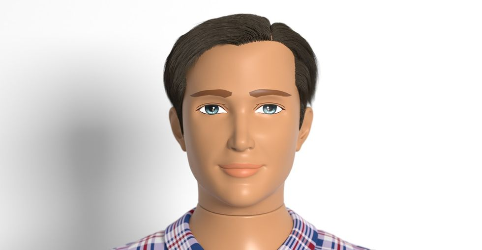 The future of toys for boys? This new doll is more like actual men ... and less like Ken.