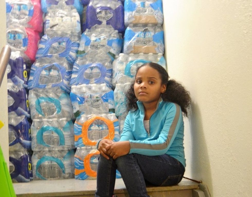 'Little Miss Flint' is preparing to make Christmas dinner without running water. Again.