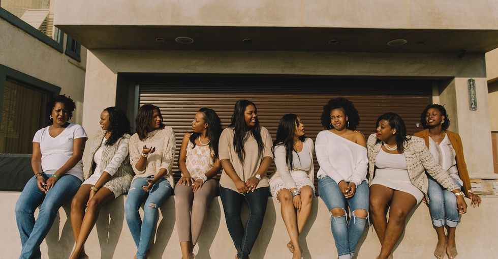 How growing up surrounded by my black girlfriends changed me.
