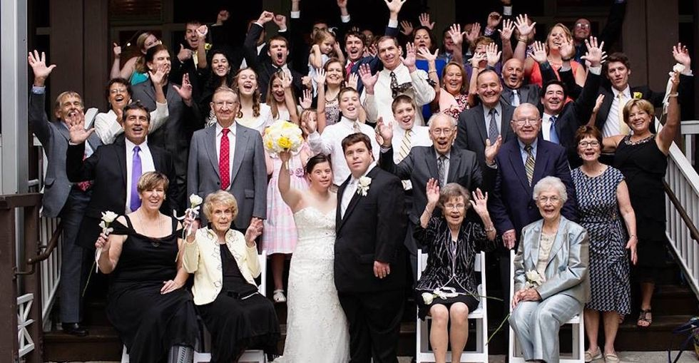 A letter to my daughter with Down syndrome on her wedding day.