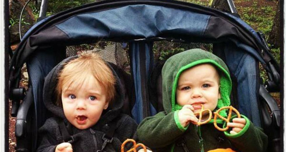 Some tired new moms went for a walk with their strollers — and started a brigade.