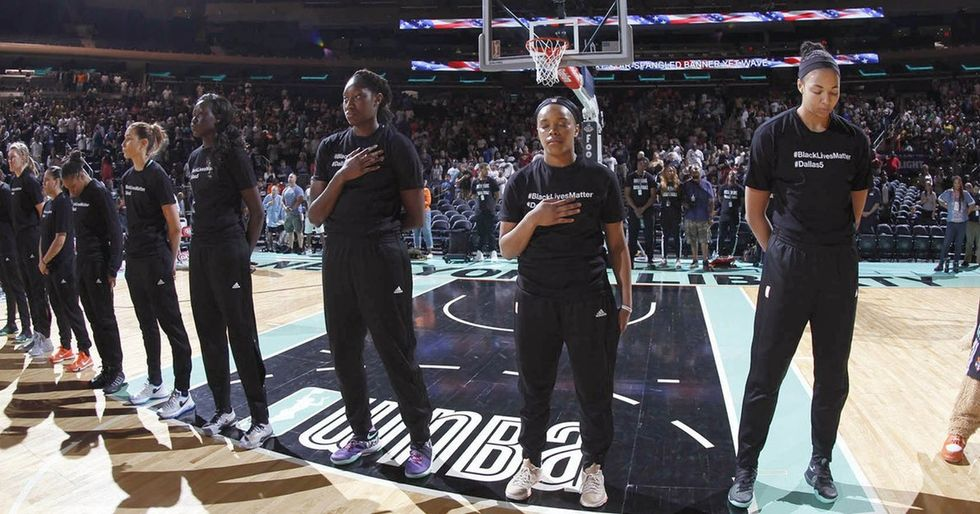 How badass WNBA players responded when they were fined for protesting injustice.
