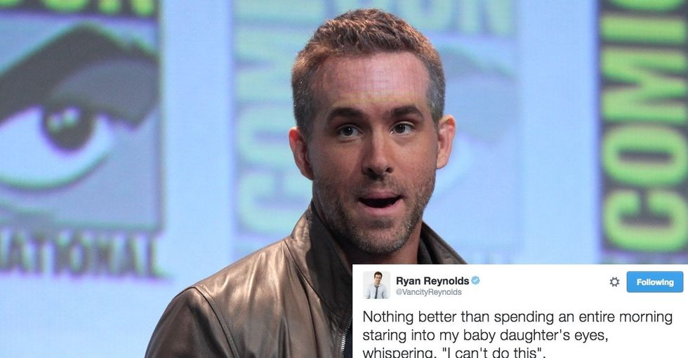 10 times Ryan Reynolds used Twitter jokes to teach valuable, yet dark,  parenting lessons.