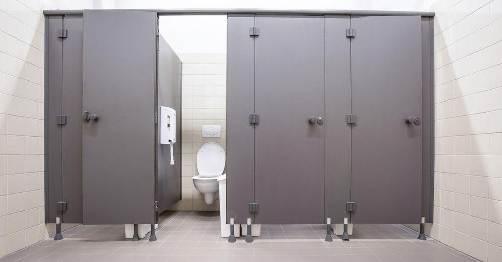 One woman had a strange, eye-opening encounter in a Target bathroom.