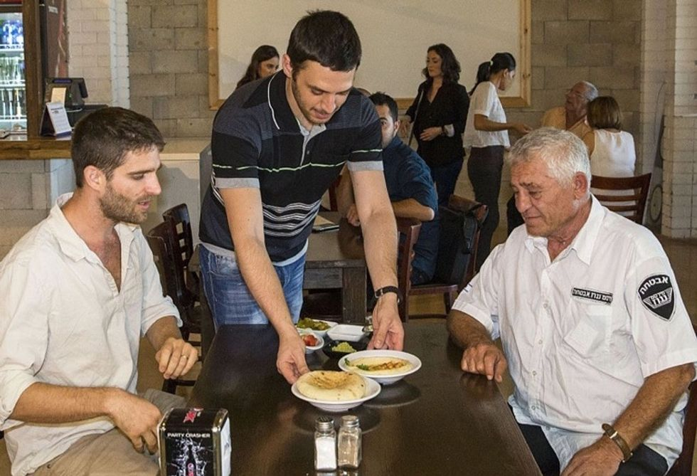 A restaurant owner's smooth, creamy plan to help end the Arab-Israeli conflict.