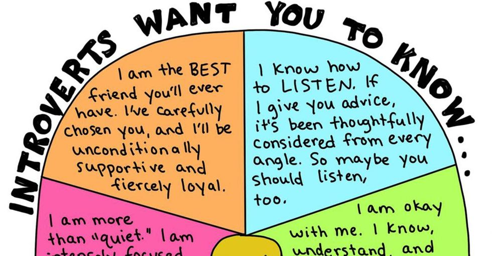 10 comics explain what it's really like to be an introvert.