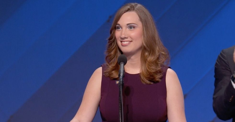 For the first time ever, a transgender woman addressed the DNC.