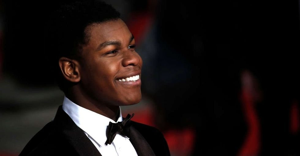 When a little girl asked John Boyega 'Where's Rey?' he gave the world's best answer.
