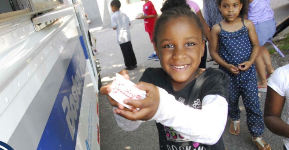 Boston cops want to build trust with their community. Their first step? Ice cream.