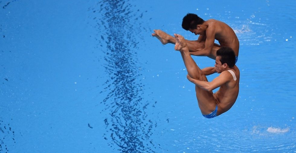 The Filipino divers everyone is making fun of are actually total class acts.