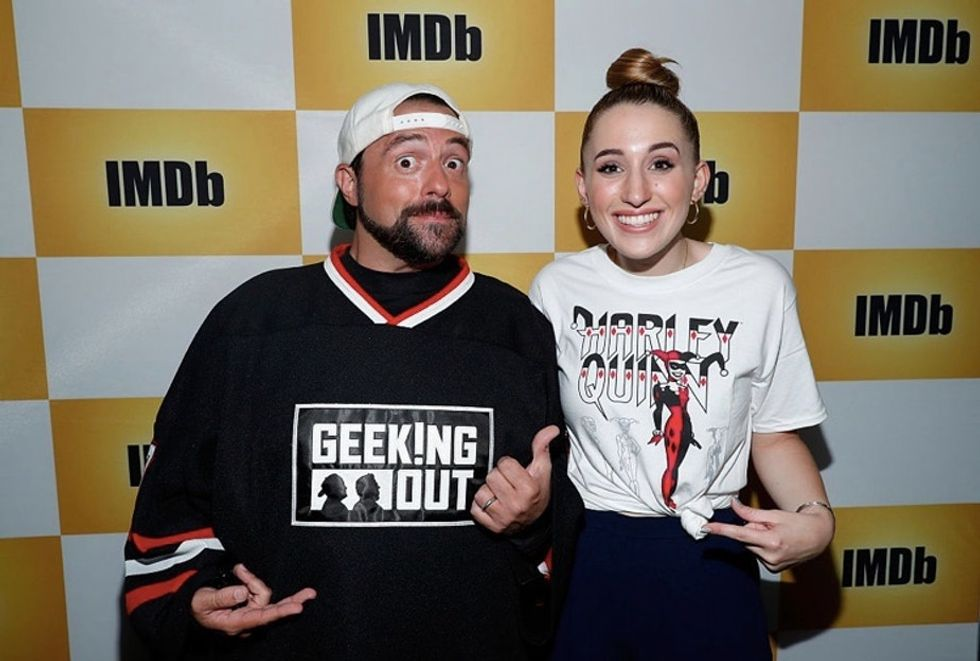 When a bully went after his daughter, Kevin Smith demonstrated how to take the high road.