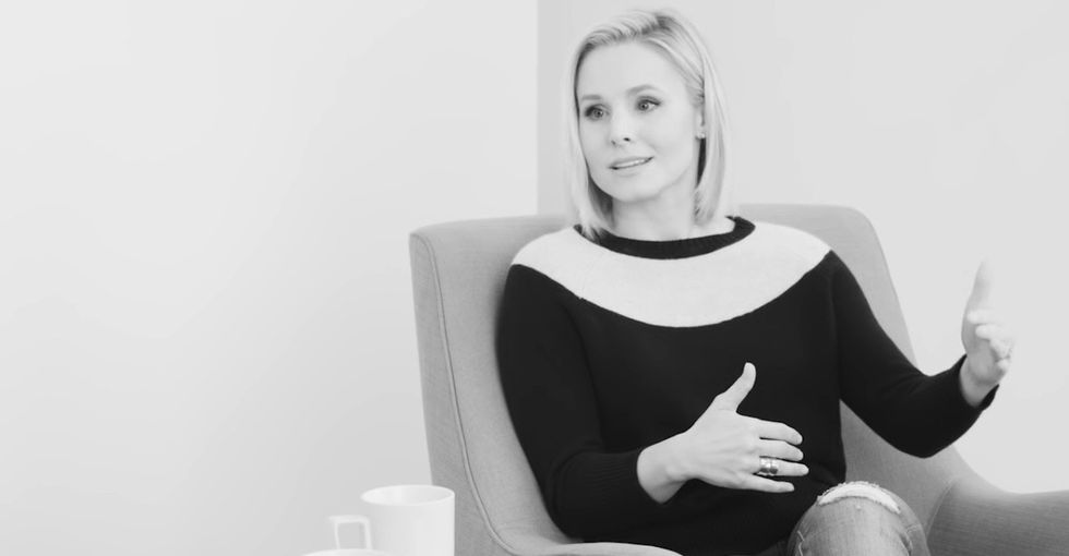 Kristen Bell opens up about living with depression and anxiety in this touching interview.