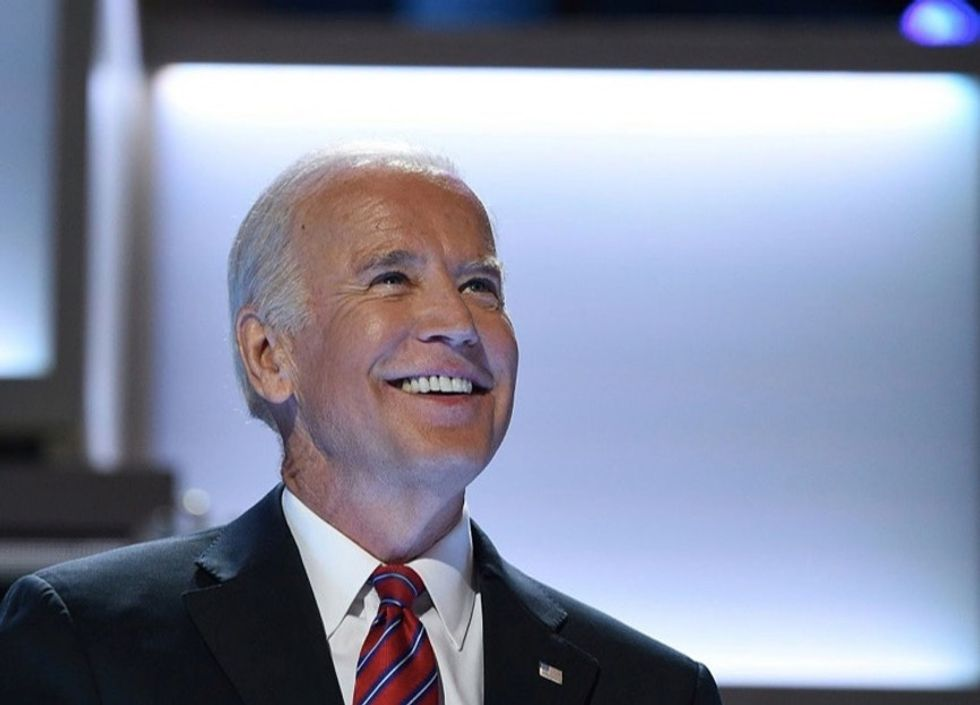 Joe Biden just officiated a gay wedding. Yeah, that's a big deal.