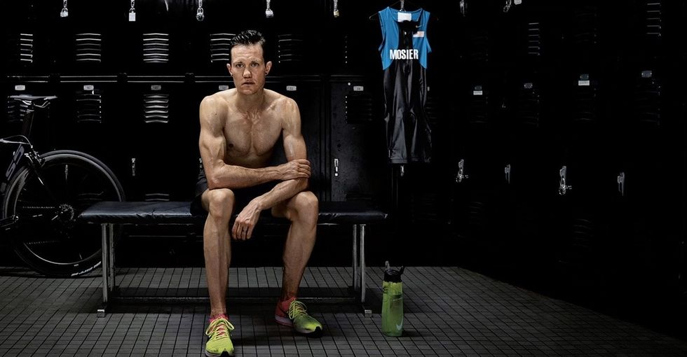 Why it matters Nike is putting trans athlete Chris Mosier front and center in this ad.