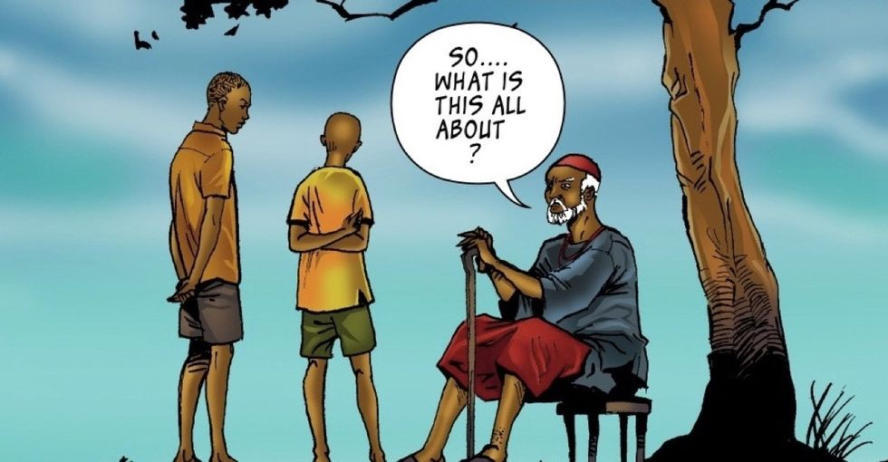 Nigerian schools cut history classes — so these comic books are picking up the slack.