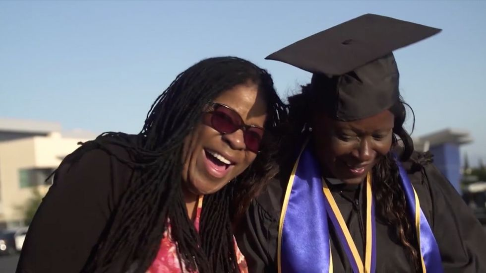 After 20 years in and out of prison, a guard told her she'd be back. She proved him wrong.