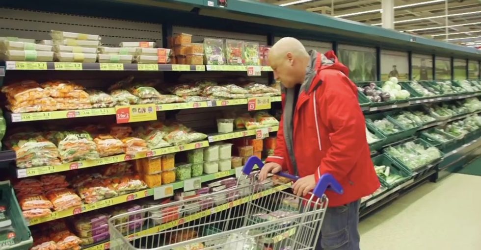 One grocery chain is dealing with unsold food in an amazing way.