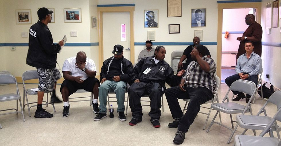 Former gang members are helping to end violence in L.A. through an awesome program.