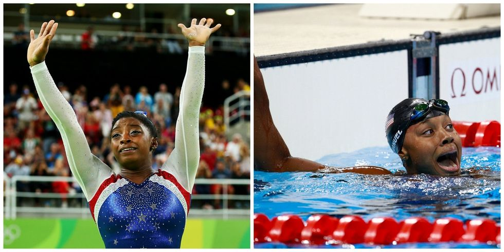 11 tweets show why Simone Biles and Simone Manuel's Olympic wins are so important.