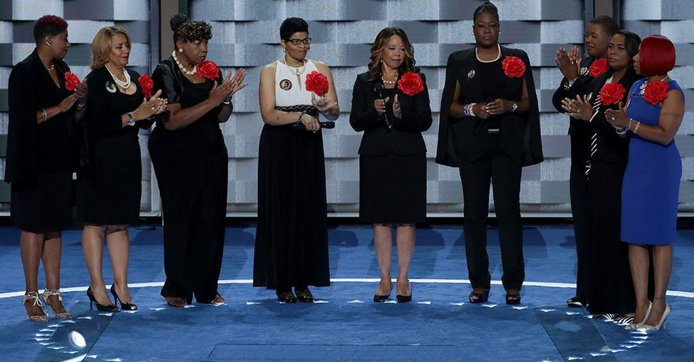 Why the Mothers of the Movement's DNC speech brought us to tears.