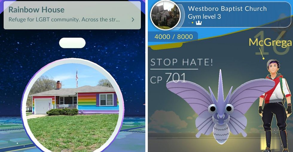 An LGBTQ activist is battling the Westboro Baptist Church in Pokémon Go. Yes really.