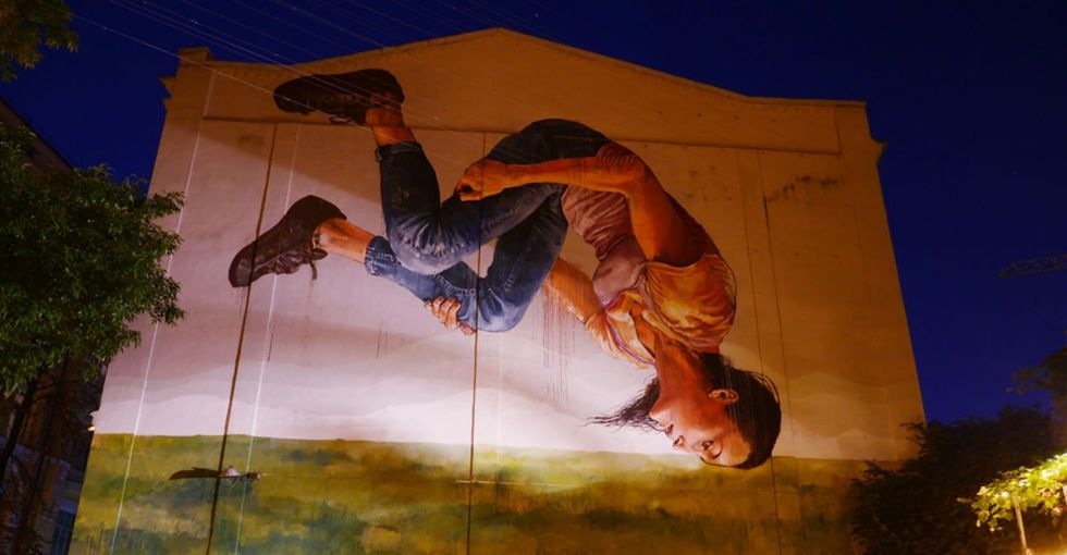 This resilient Ukrainian city may just have the most beautiful murals in Europe.