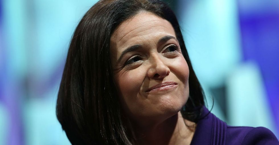 How Sheryl Sandberg's take on single moms shifted after her husband died.