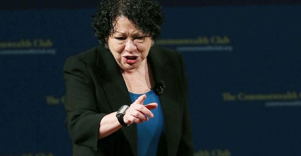 Sonia Sotomayor's visceral description of what it's like to be arrested is a must-read.