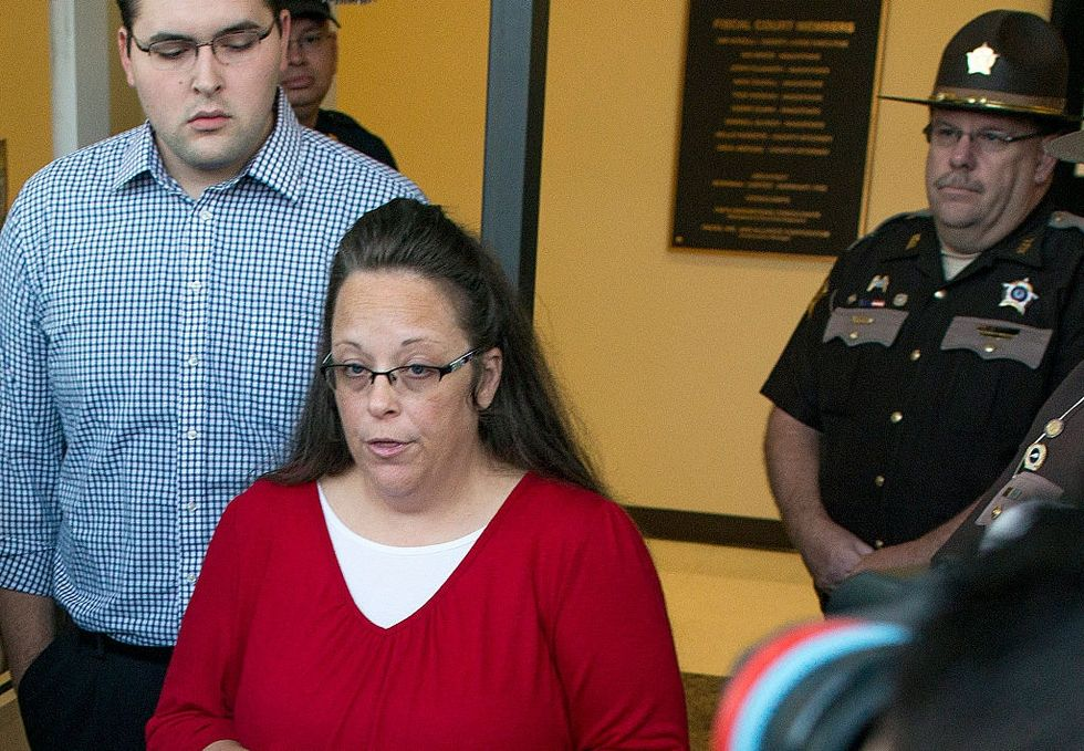 The infamous anti-gay marriage clerk just lost her election in Kentucky.