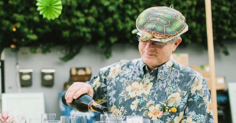 Your favorite new Kickstarter is a dad sharing the magic of his turtle hat.